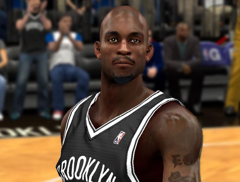 NBA 2K14 Kevin Garnett Next-Gen Face Mod