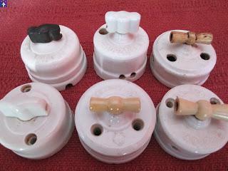 Flech corporation old vintage material electric spain vol 3 interruptores antiguos de - Interruptores clasicos ...