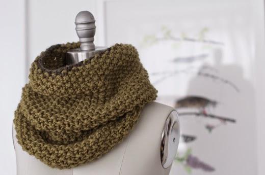 Easy Infinity Scarf Knitting Pattern Circular Needles :