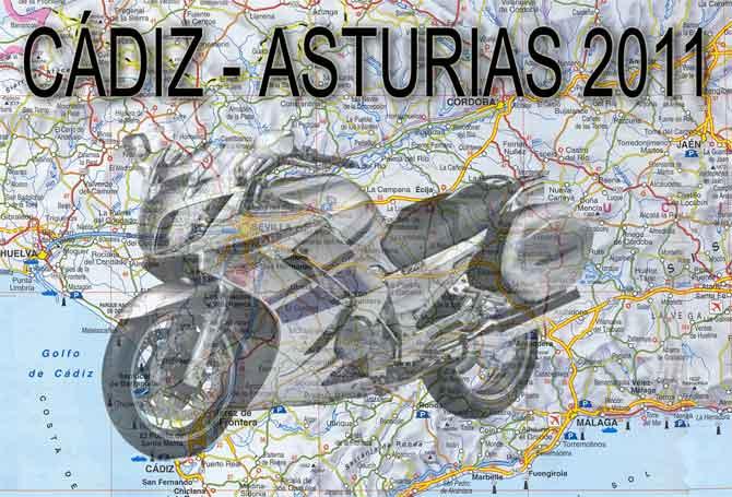 CÁDIZ - ASTURIAS 2011