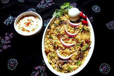Non Vegetarian Biriyani recipes