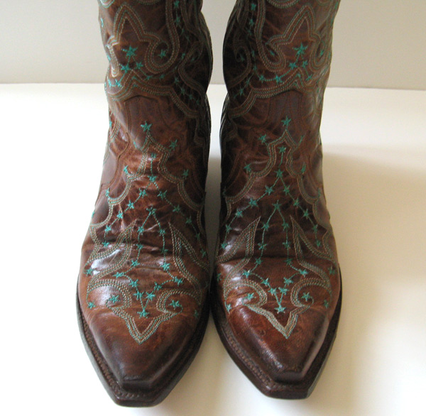 closet gringo brown leather cowboy boots womens