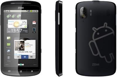 ZTE Skate - Harga Spesifikasi Ponsel Android Gingerbread Kamera 5 Megapixel - Berita Handphone