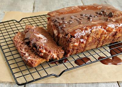 Double Chocolate Cake with Cherry Cheesecake Swirl