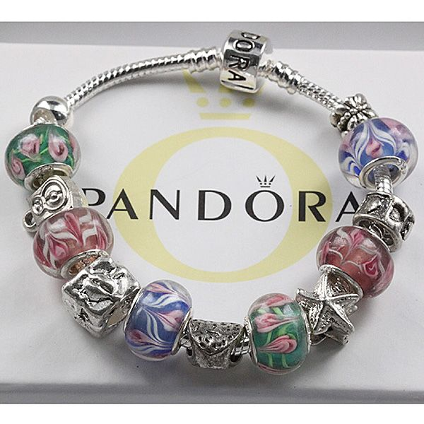 fashionably brokeass pandora charm bracelet