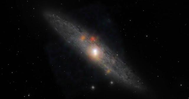 Hình ảnh mới nhất về thiên hà Sculptor từ kính viễn vọng NuSTAR. Credit: NASA/JPL-Caltech/JHU.