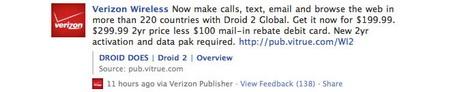 Motorola DROID 2 Global confirmed by Verizon