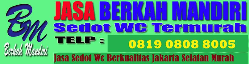 Tarif Sedot Wc Jakarta Selatan Terbaru Tahun 2018  Tlp 0819 0808 8005