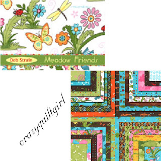 Moda MEADOW FRIENDS Quilt Fabric by Deb Strain