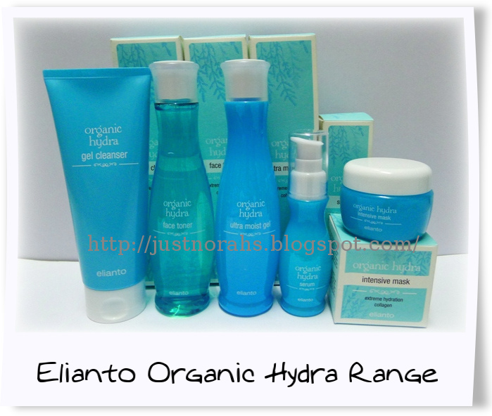 Just norahs product review elianto organic hydra