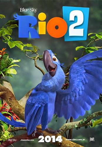 Rio 2 (BRRip 3D FULL HD Inglés Subtitulada) (2014)