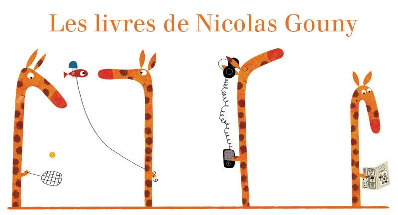 Les livres de Nicolas Gouny