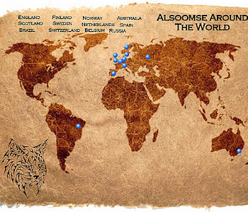 Alsoomse Pixie Bobs Around The World
