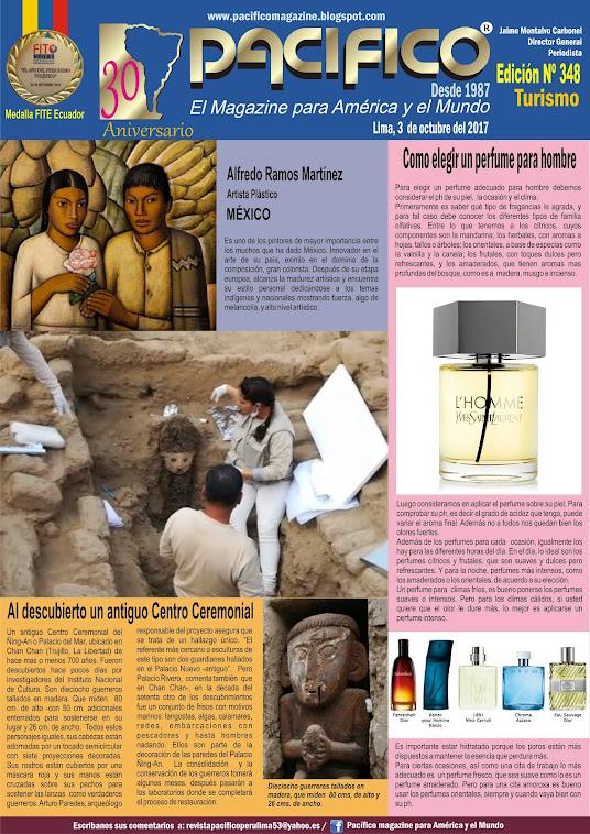 Revista Pacífico Nº 348 Turismo