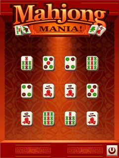 Screenshots of the Mahjong mania! for java mobile, phone.