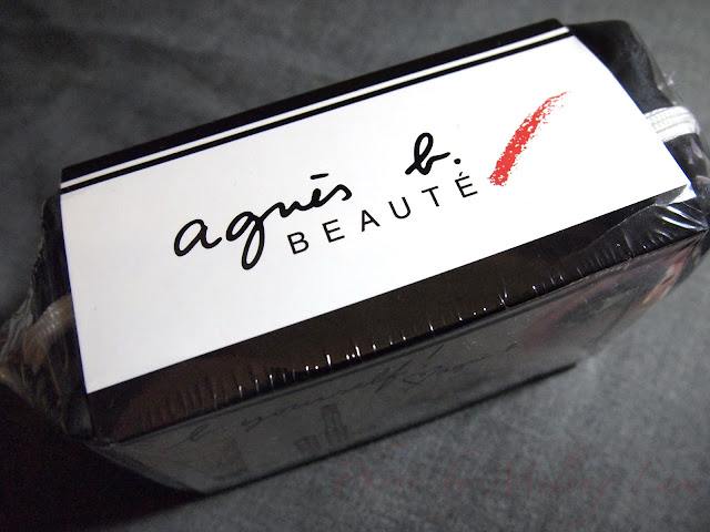 agnes b. beaute b. yourself bb cream eye shadow trio eye liner cosmetic bag