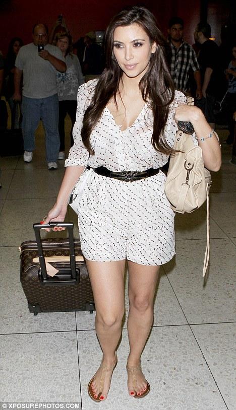 Temi Ni Kan Kim Kardashian Seems To Have Developed A Soft