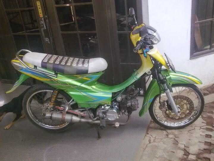Modifikasi Motor Honda Supra Fit 2004 Terbaru