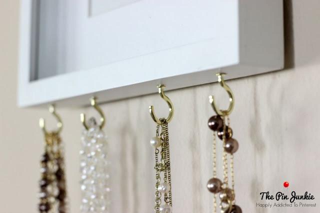 Monogram Art Jewelry Organizer