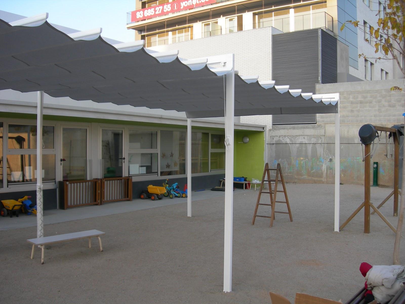 Toldos campos instalaci n de toldos correderos en una for Perfiles para toldos correderos
