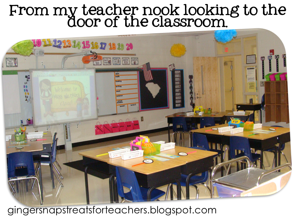 Classroom Ideas Second Grade ~ Ginger snaps classroom reveal and must haves monday