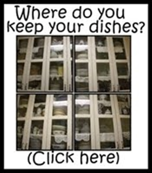 WHERE DO YOU KEEP THE DISHES?