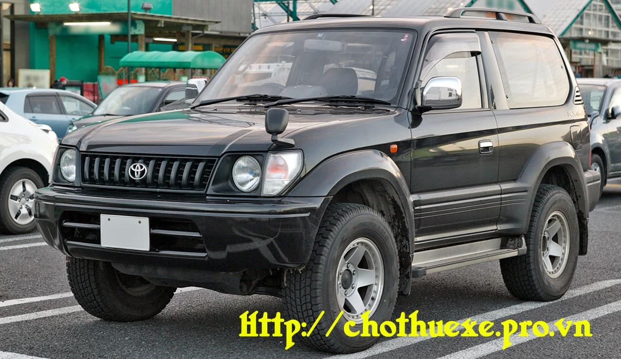 Cho thuê xe Toyota Prado Land cruiser hội nghị