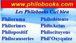 Philobooks ciel bleu