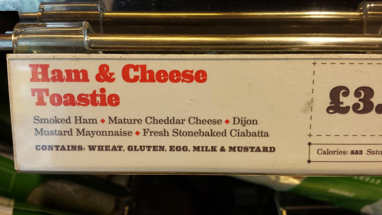 Costa Jaffa Cake Calories
