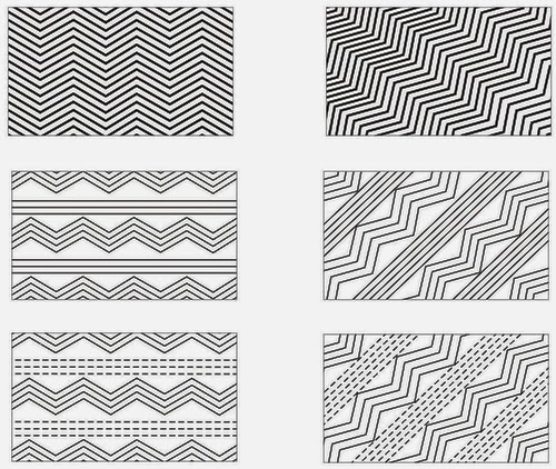 Curved Straight Line Design
