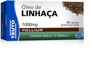 óleo de linhaça Follium