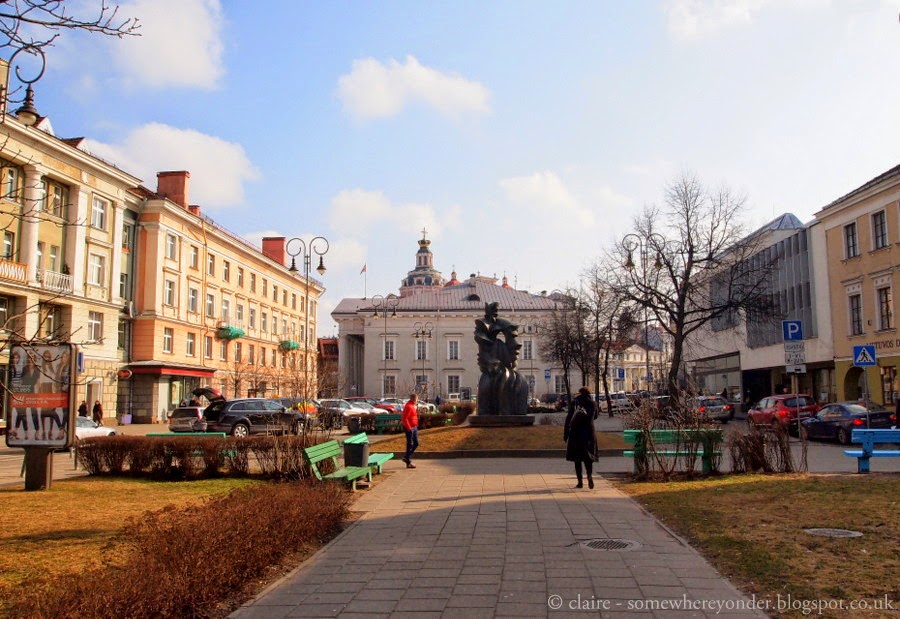 """German Street"" - Vilnius, Lithuania"