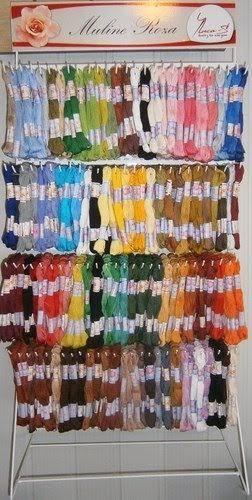#ВСІ Нитки MULINE ROSA для вишивання - 108 кольорів ( упаковка - 12 мотків по 8 м.)