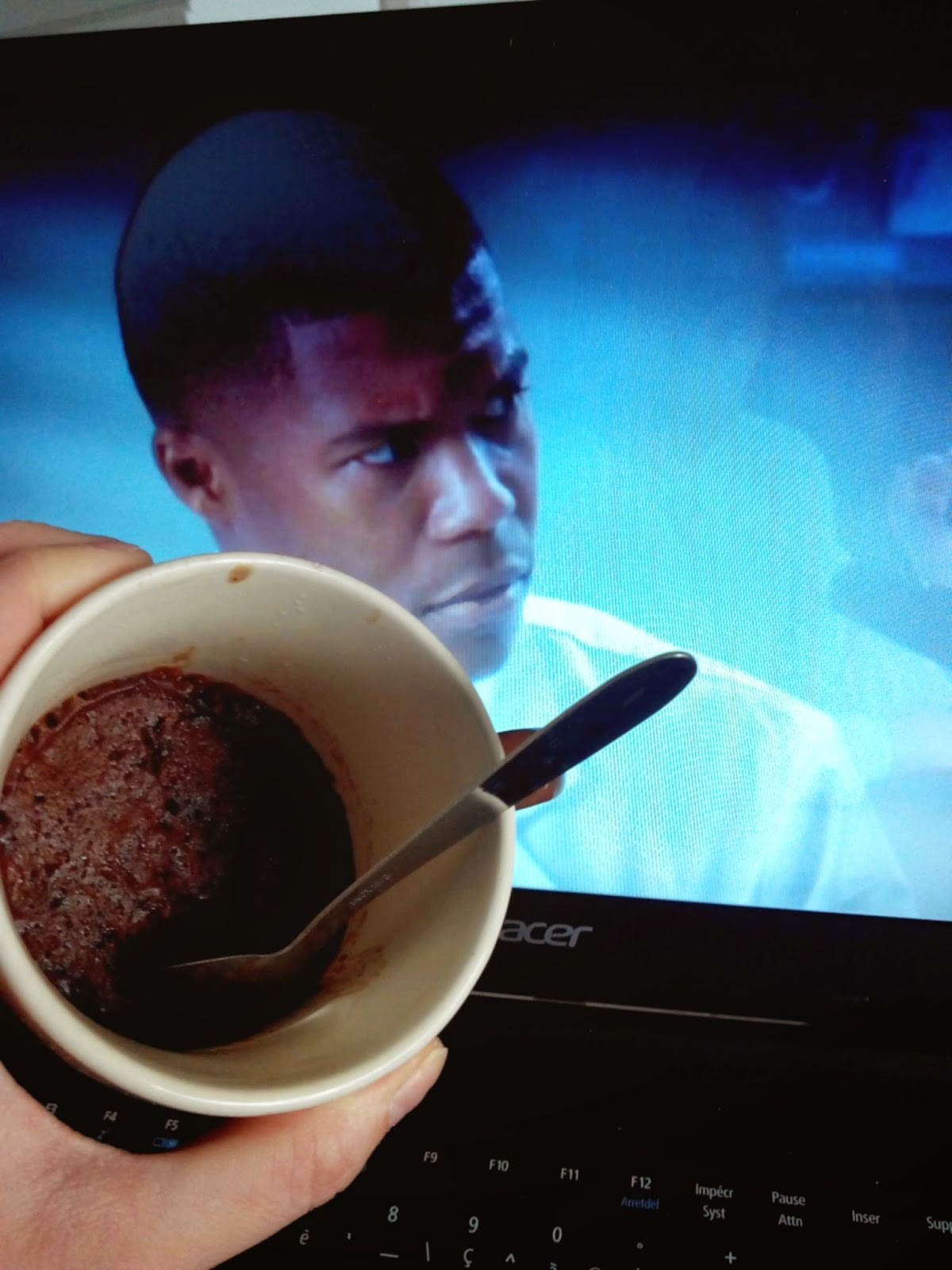 mug cake, grey's anatomy, bullelodie
