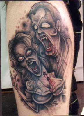 Vampire Tattoo Design Picture Gallery - Vampire Tattoo Ideas