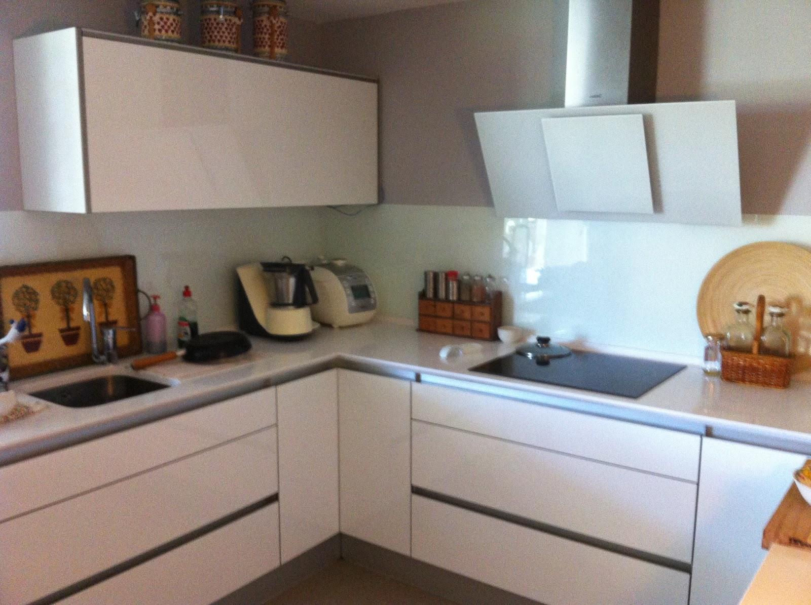 Formas almacen de cocinas cocina con o sin tiradores - Tiradores de muebles de cocina ...