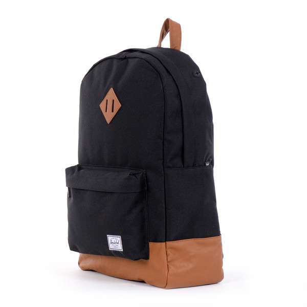 black herschel bag