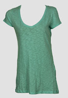 Tricou ZARA Margot Light Blue (ZARA)
