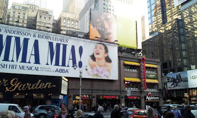 Mamma Mia! Broadway show in Manhattan