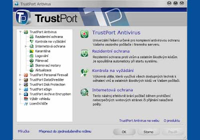 Free Download TrustPort Total Protection 2011 + Free 90 Days License