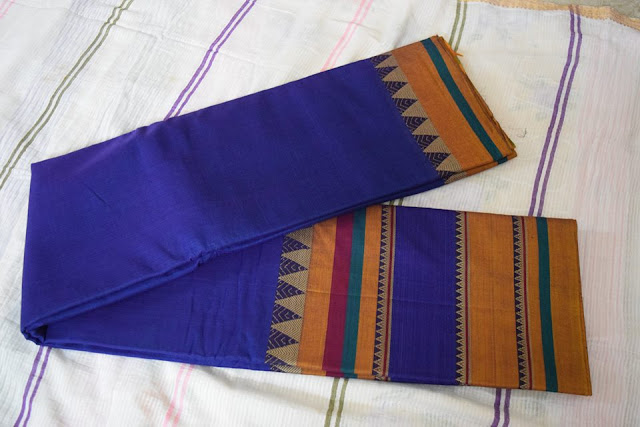 Big border Narayanpet Cotton Saree