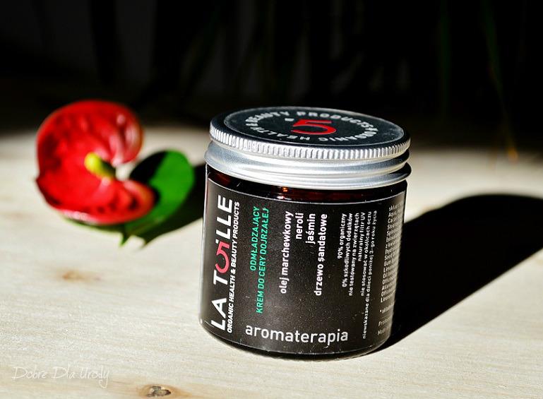 Latoille 5 Krem Odmładzający do cery dojrzałej  aromaterapia
