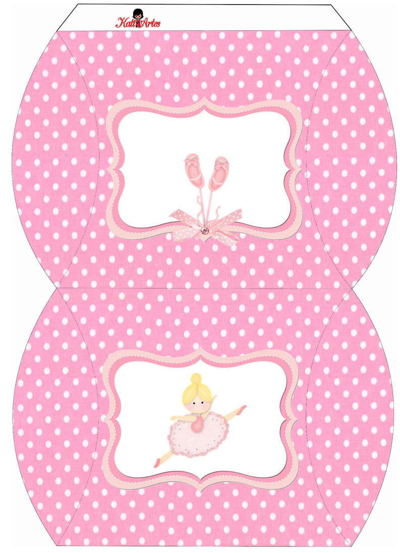 Blondie Dancer: Free Printable Pillow Box.
