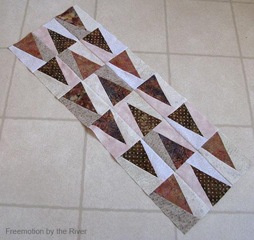 Batik tablerunner