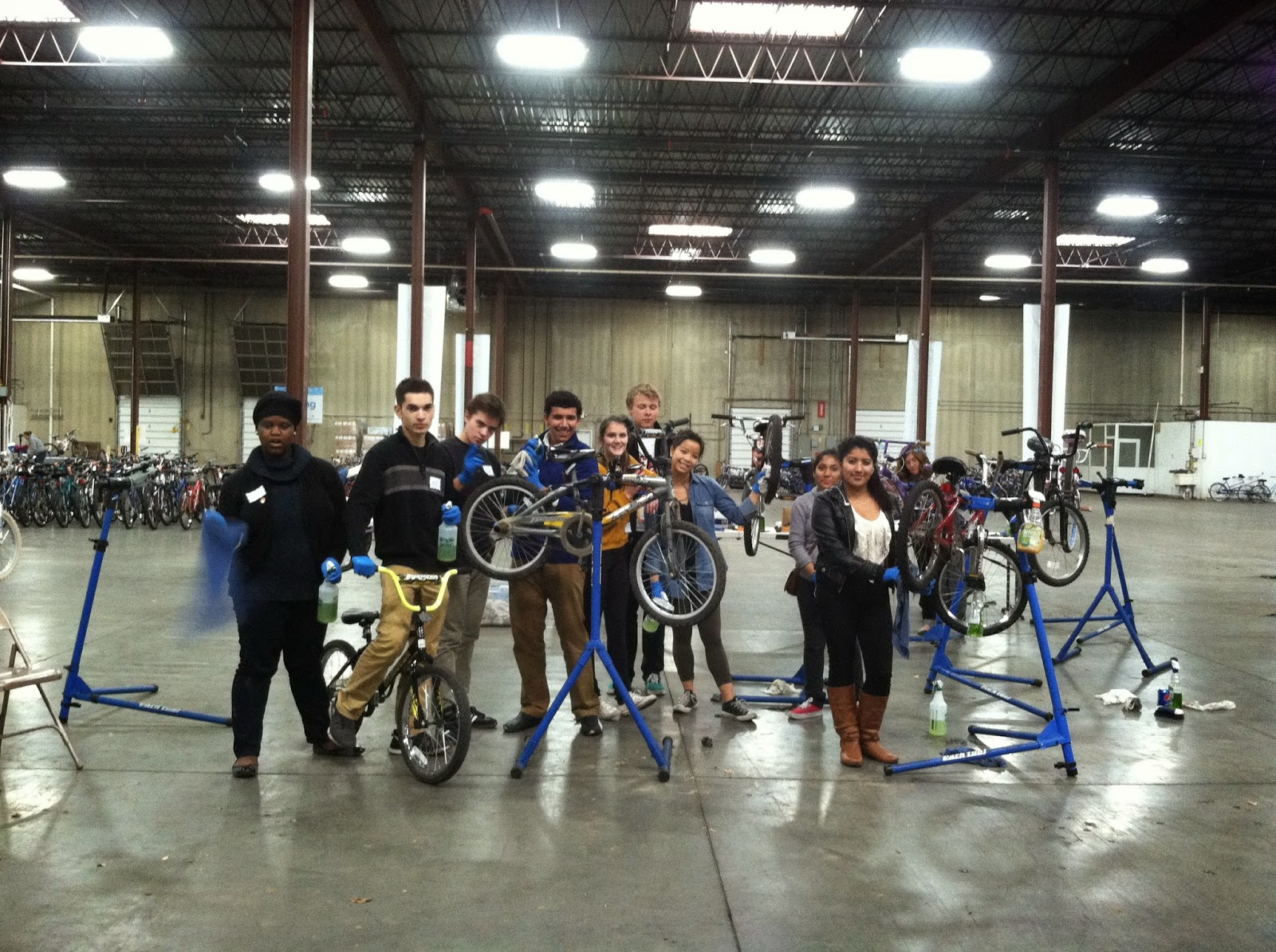Bikes For Kids Foundation Fixing Bikes For Kids
