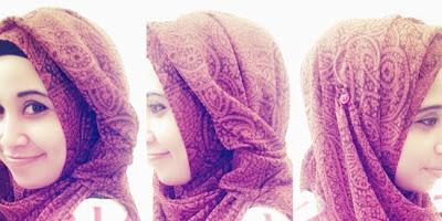 Cara Memakai Jilbab Pashmina Anti Tembem