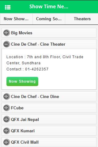 showtime nepal app