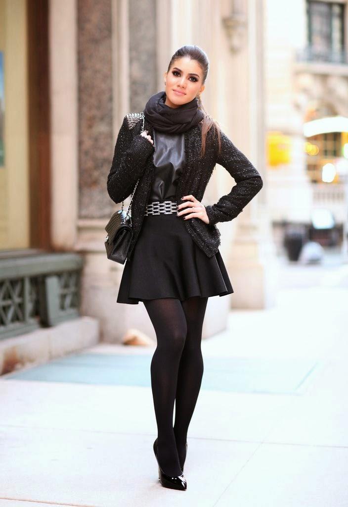 Look  Camila Coelho - All Black  75394dd9feff0