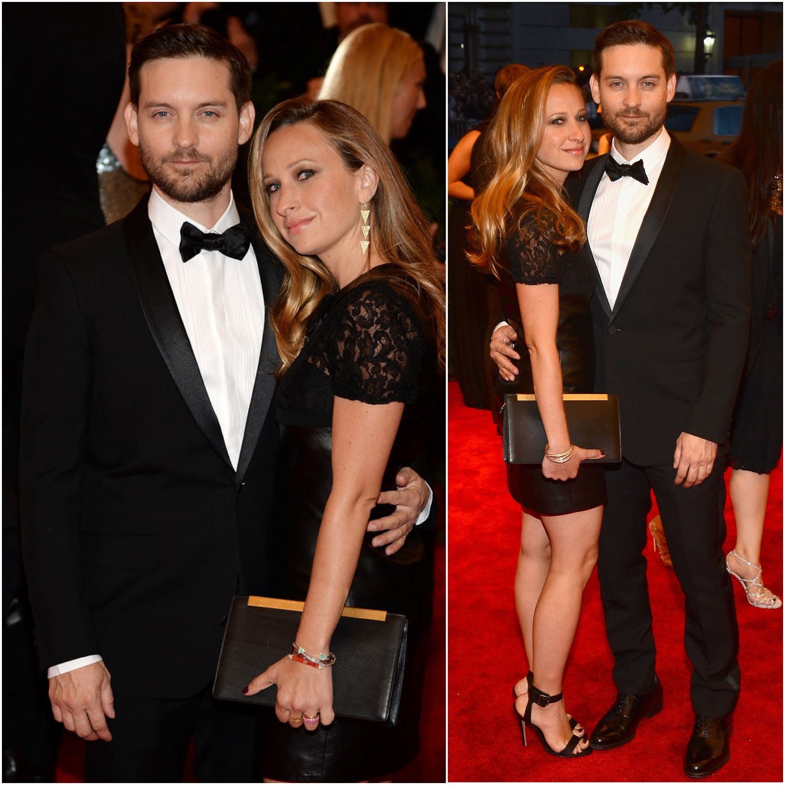 00O00 Menswear Blog: Tobey Maguire in Saint Laurent - 'PUNK: Chaos To Couture' Costume Gala May 2013