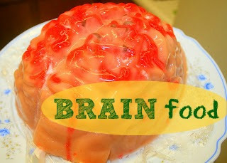 Susieqtpies cafe jello brain food mold recipe are you looking for fun and easy food ideas well get ready for some zombie themed food ideas here are tasty recipes including tasty halloween recipes for forumfinder Images